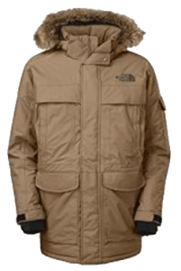 North Face Mens Mcmurdo Parka