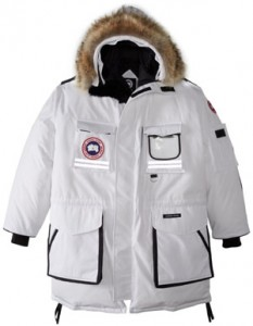 Canada Goose Snow Mantra Parka in white